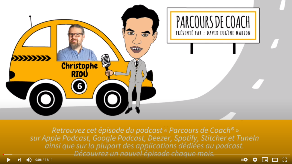 Parcours de Coach : Christophe Riou